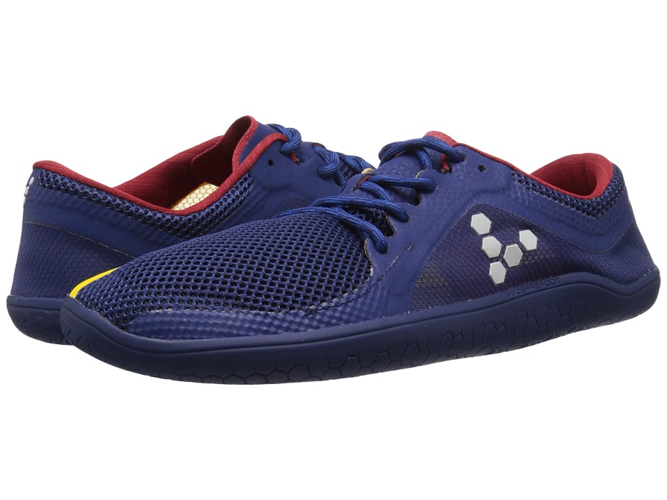 Vivobarefoot Primus Road Navy/Red/Yellow Mens Shoes