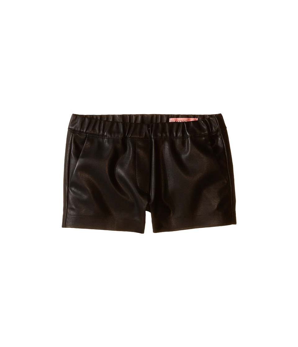 Blank NYC Kids Vegan Leather Elastic Band Shorts in Pussy Cat Big Kids Pussy Cat Girls Shorts