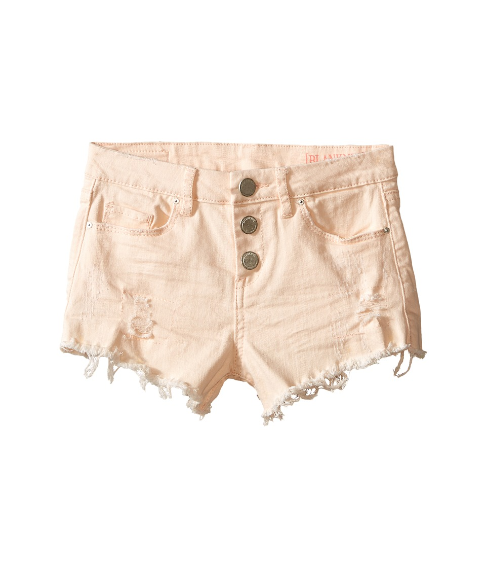 Blank NYC Kids High Rise Shorts in Heart Breaker Big Kids Heart Breaker Girls Shorts