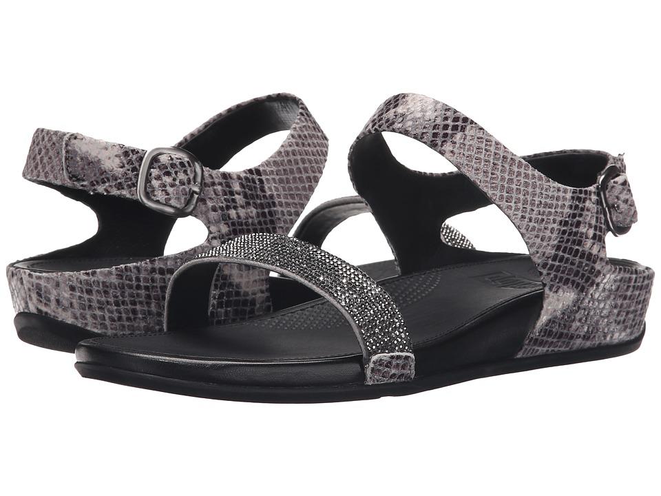FitFlop Banda Crystal Snake Sandal Mink Womens Sandals