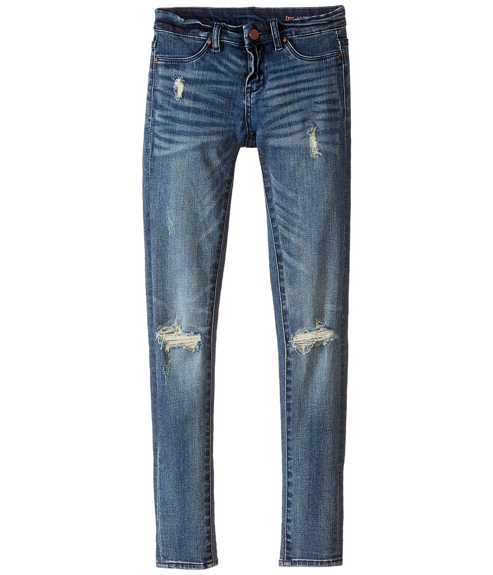 Blank NYC Kids - Denim Distressed Skinny in the Hard Way (Big Kids) (The Hard Way) Girls Jeans