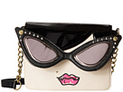 Betsey Johnson Lady Face Crossbody (Cream)