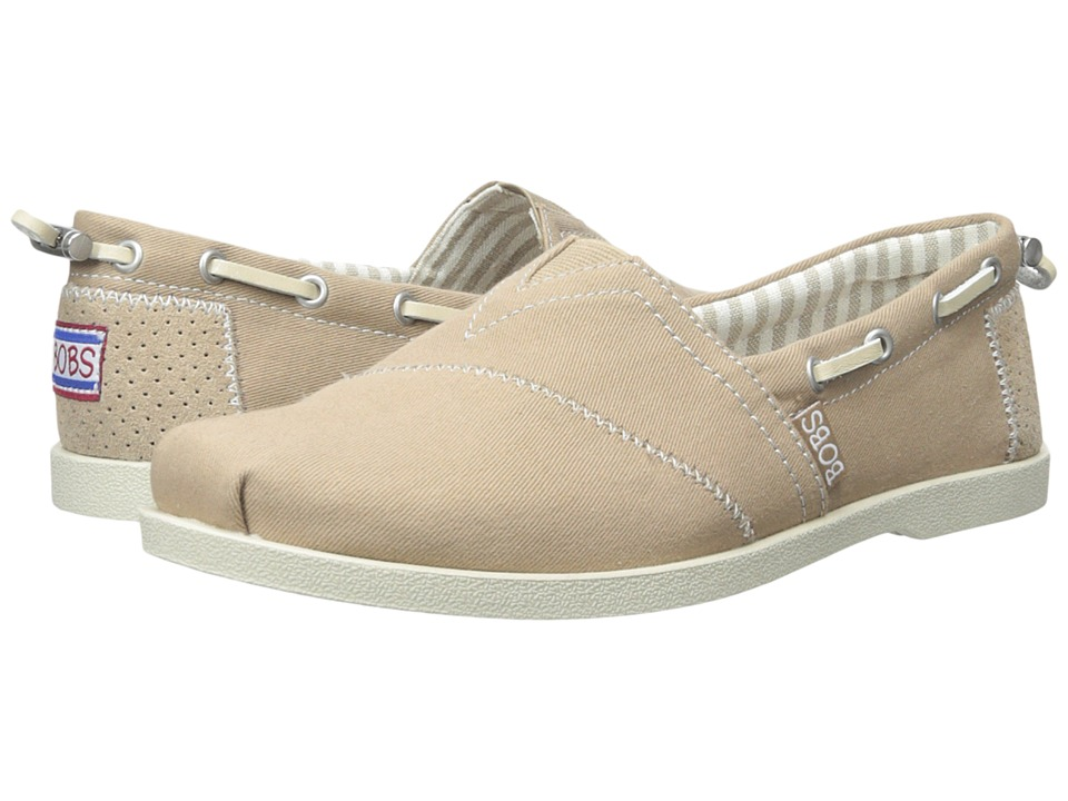 BOBS from SKECHERS - Chill Luxe - Dockside (Taupe) Women