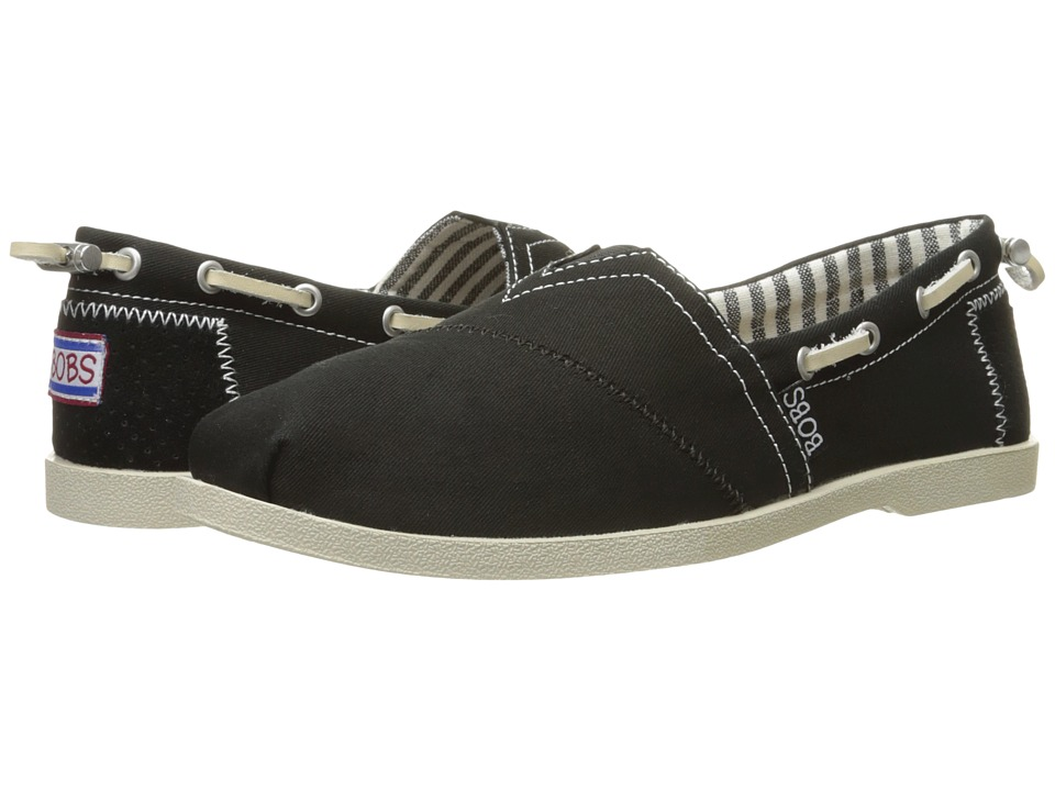 BOBS from SKECHERS Chill Luxe Dockside (Black) Women