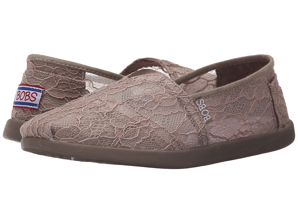 BOBS from SKECHERS - Bobs World - Delicate Flower (Taupe) Women