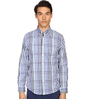 Jack Spade - Palmer Button Down One-Pocket Multi-Tone Gingham