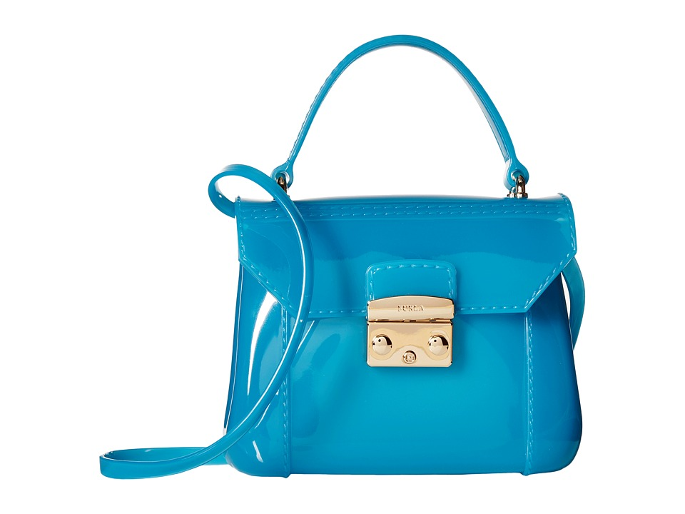 Furla - Candy Bon Bon Mini Crossbody (Turchese) Cross Body Handbags