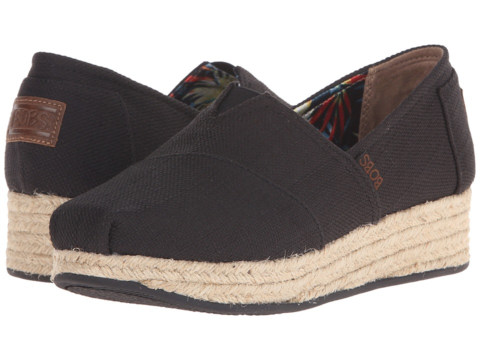 BOBS from SKECHERS Highlights High Jinx (Black) Women