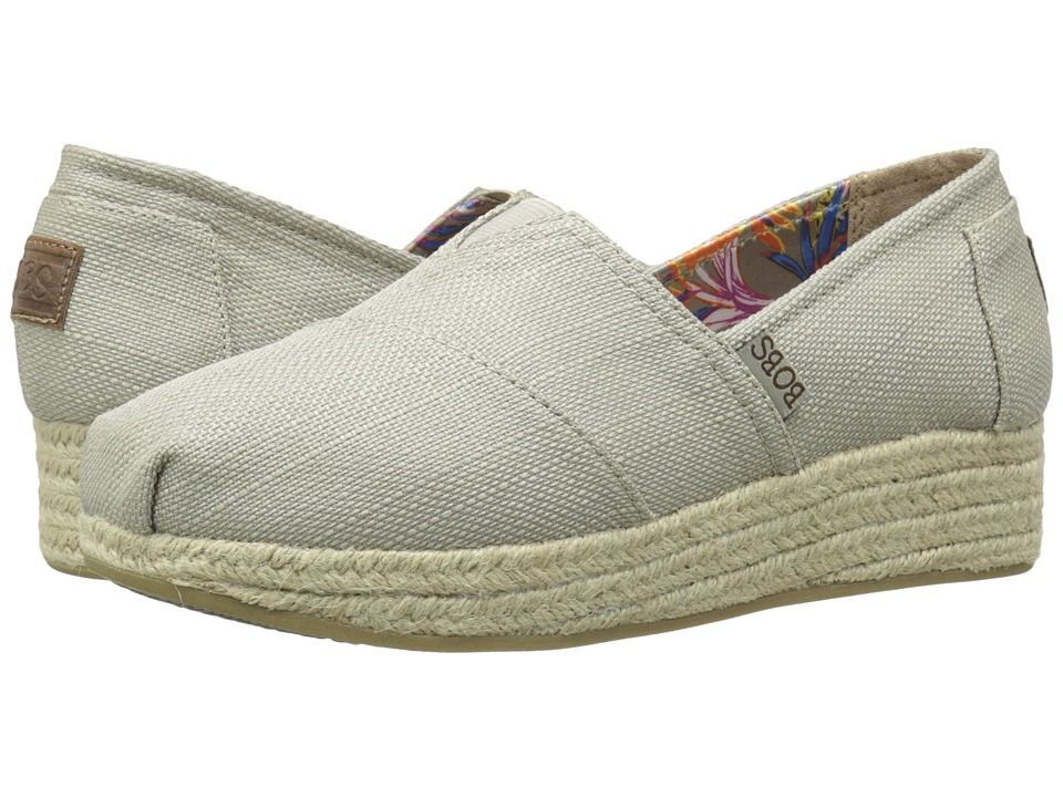 BOBS from SKECHERS Highlights High Jinx (Taupe) Women