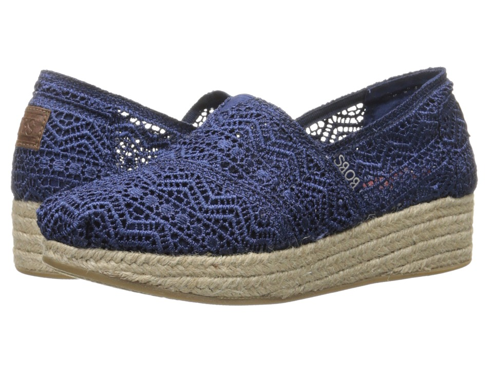 BOBS from SKECHERS Highlights Amaze (Navy) Women