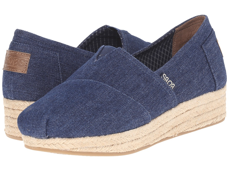 BOBS from SKECHERS Highlights Moments (Denim) Women