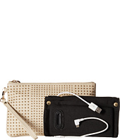 Mighty Purse - Cow Leather Charging Stud Wristlet