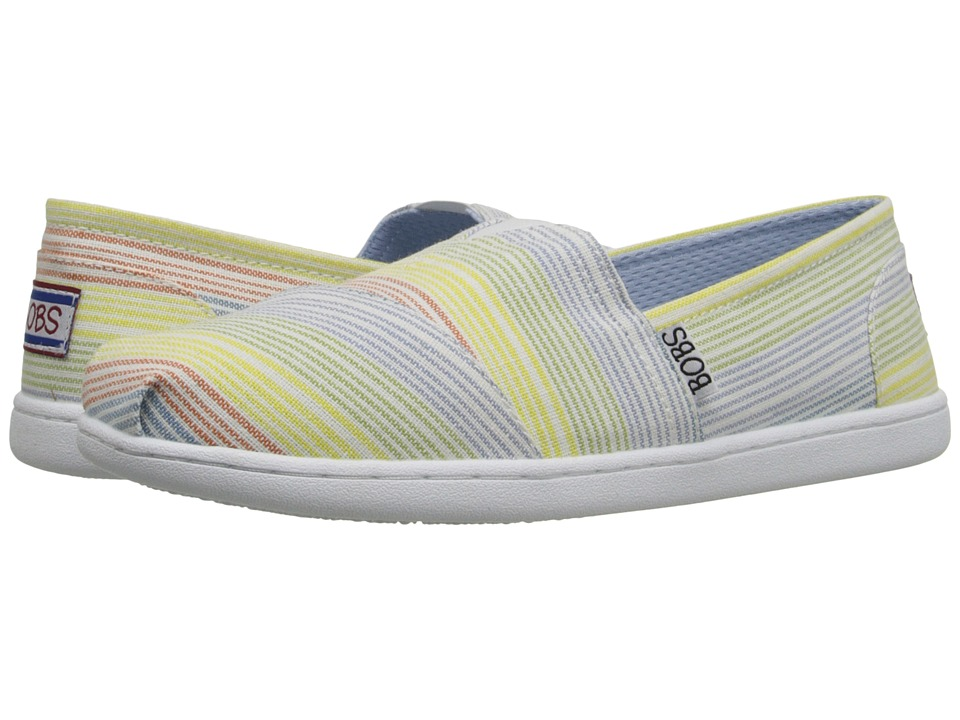 BOBS from SKECHERS Bobs Bliss Open Heart Multi Womens Slip on Shoes