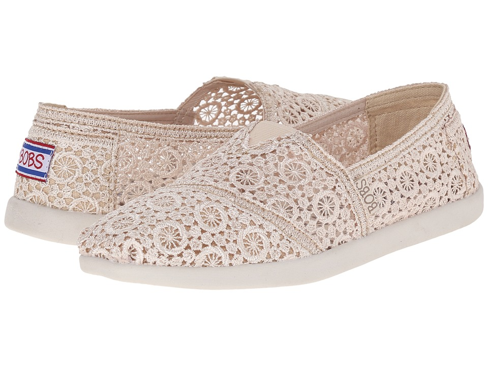 BOBS from SKECHERS Bobs World Cartwheels Natural Womens Slip on Shoes