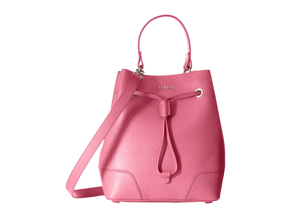Furla Stacy Small Drawstring Rodonite Drawstring Handbags