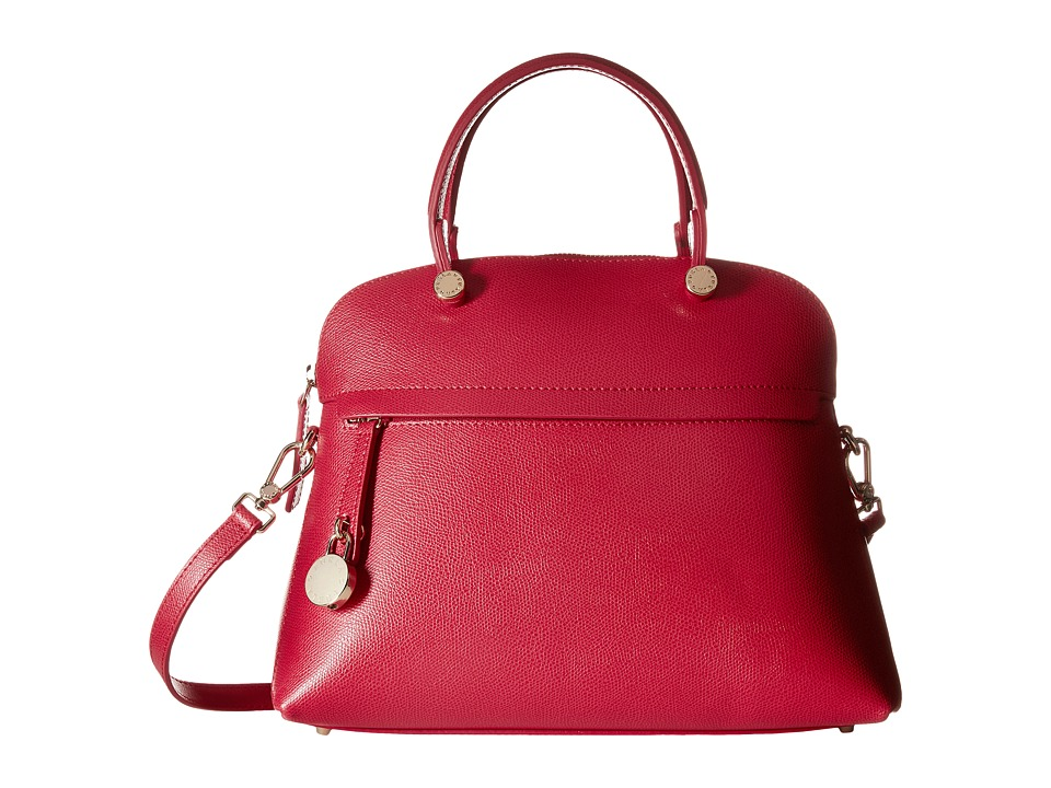 Furla - Piper Medium Dome (Ruby) Satchel Handbags