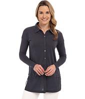 Mod-o-doc - Supreme Jersey Drop Shoulder Contrast Hem Button Front Shirt