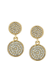 Karen Kane - Starry Disc Double Drop Earrings