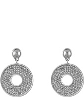 Karen Kane - Iris Open Disc Drop Earrings