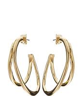Karen Kane - New Moon Double Hoop Earrings