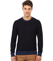 Lucky Brand - Holiday Indigo Crew