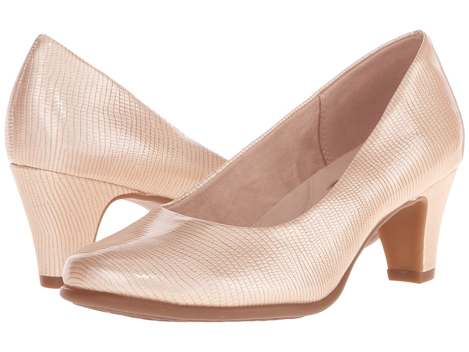 Aerosoles Red Hot (Nude Lizard) High Heels