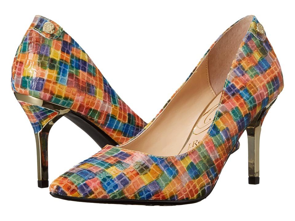 J. Renee Bryanne Bright Multi High Heels