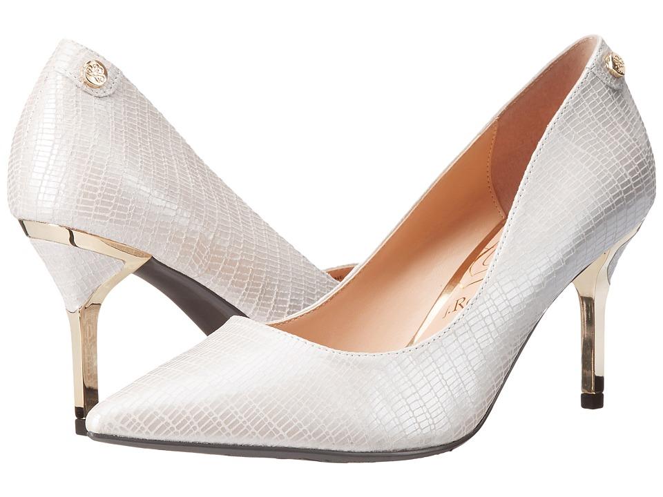 J. Renee Bryanne White Pearl High Heels