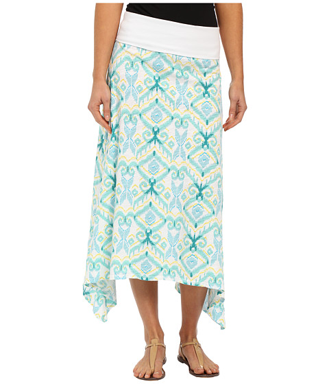 Fresh Produce - Ikat Surfside Skirt (White) Women's Skirt