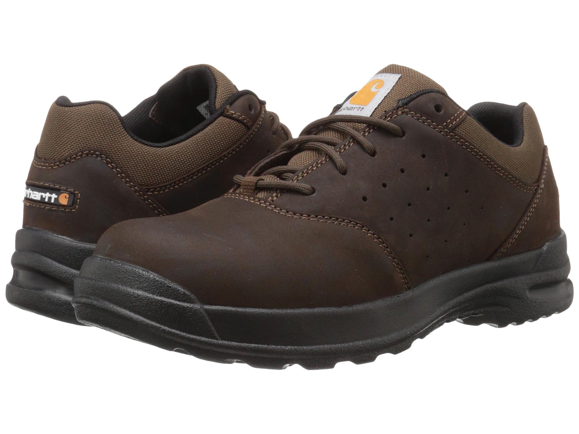 carhartt oxford walking shoe brown zappos free