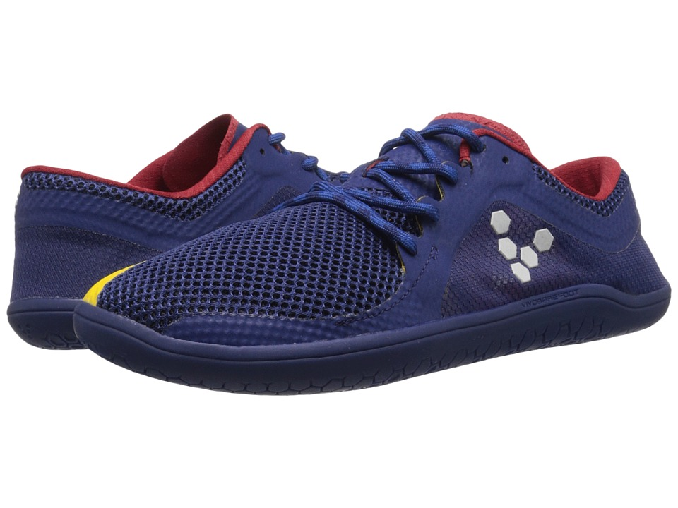 Vivobarefoot - Primus Road (Navy/Red/Yellow) Womens Shoes
