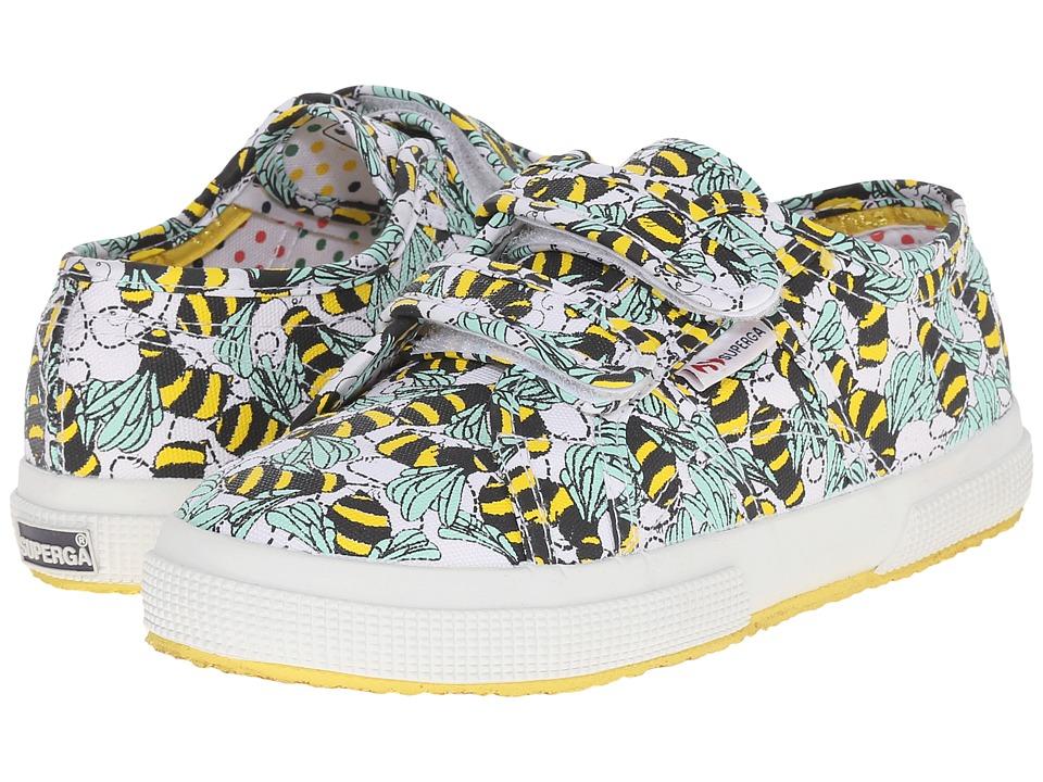 Superga Kids 2750 FantasyCovj Infant/Toddler/Little Kid/Big Kid Bees Girls Shoes