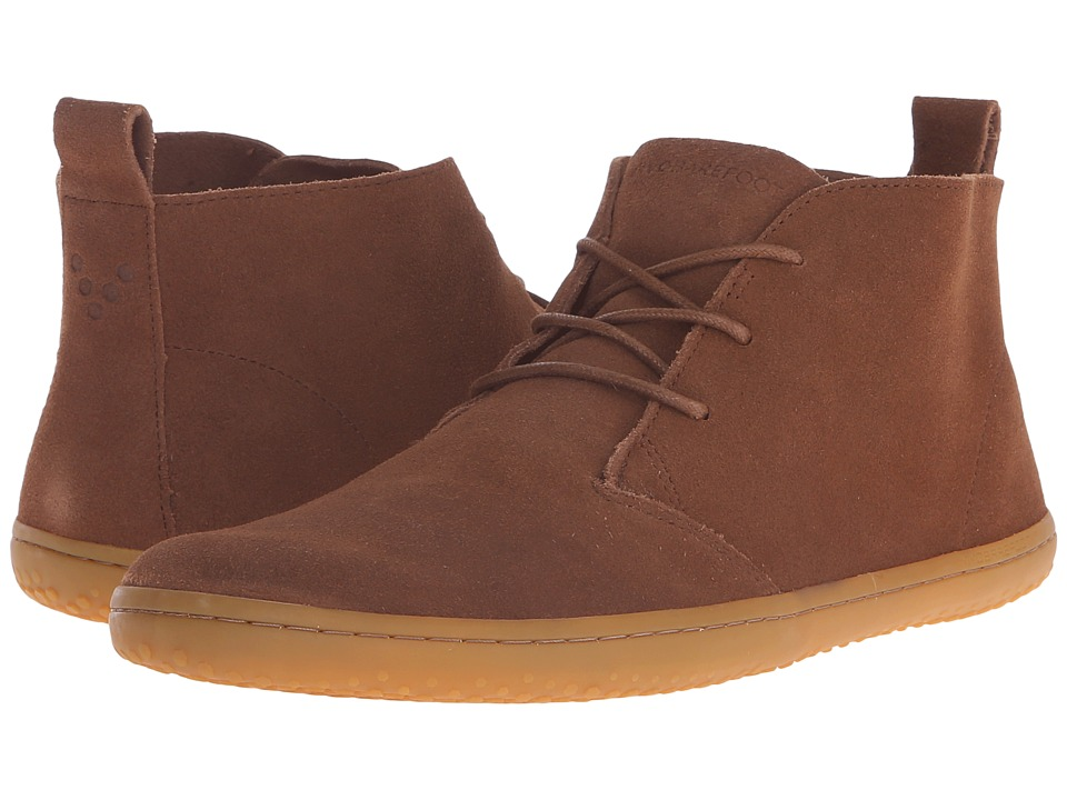 Vivobarefoot Gobi II M Leather Chestnut Suede Mens Shoes