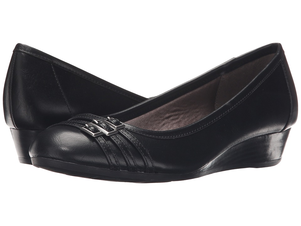 LifeStride - Farrow (Black Amsler) Womens  Shoes
