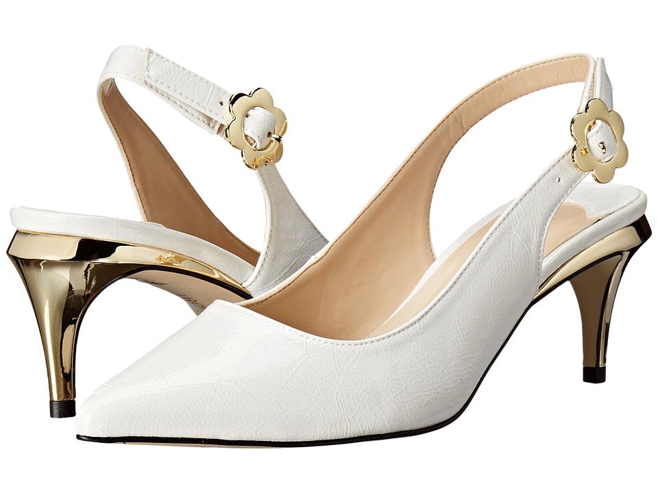 J. Renee Pearla (White) High Heels