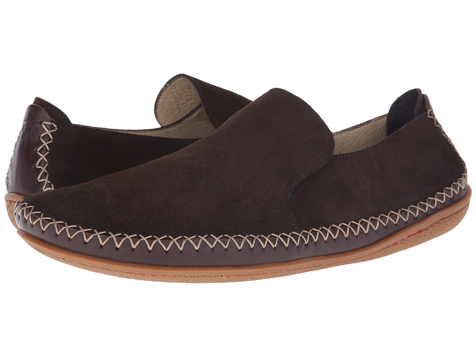 Vivobarefoot Opanka Slip On Chocolate Mens Slip on Shoes
