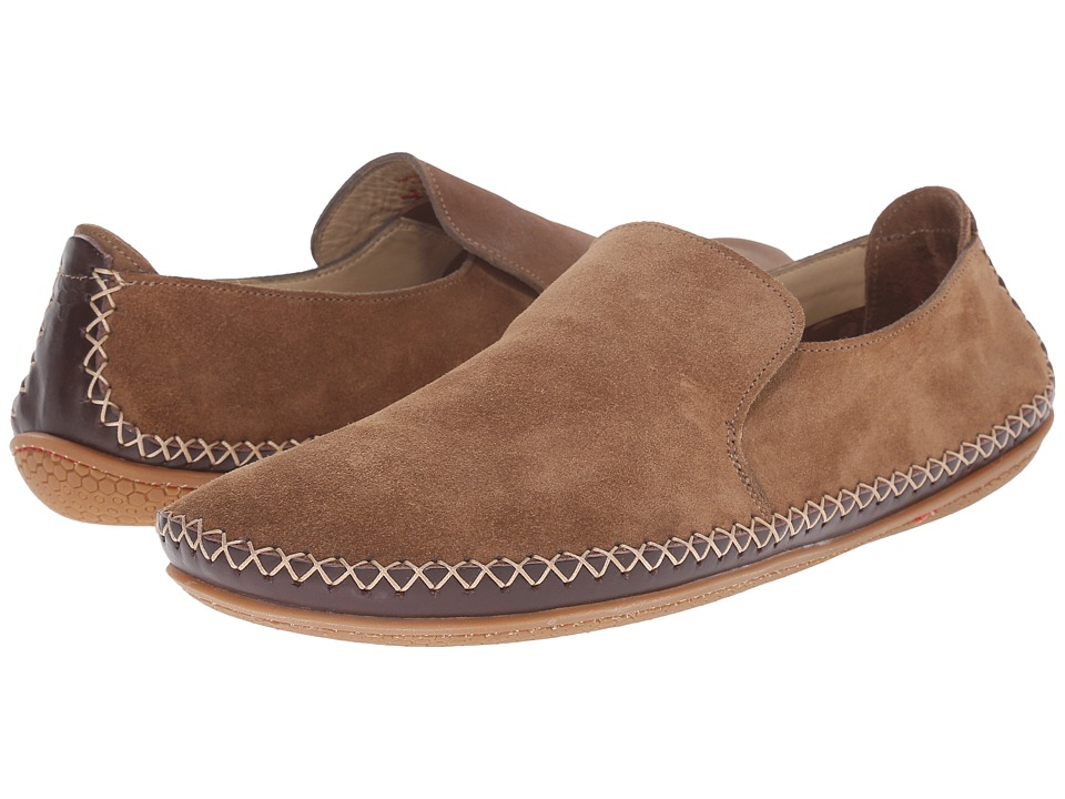 Vivobarefoot Opanka Slip On Taupe Mens Slip on Shoes