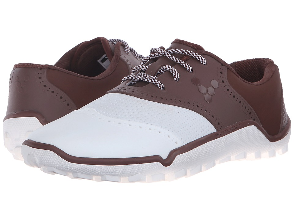 Vivobarefoot Linx Chocolate/White Mens Golf Shoes