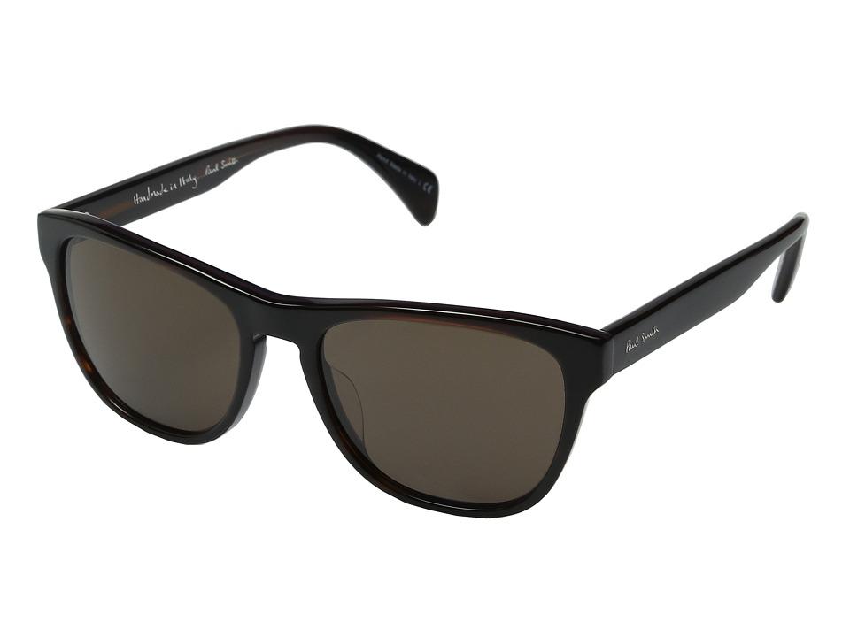 Paul Smith Hoban Semi Matte Onyx/Grey Fashion Sunglasses