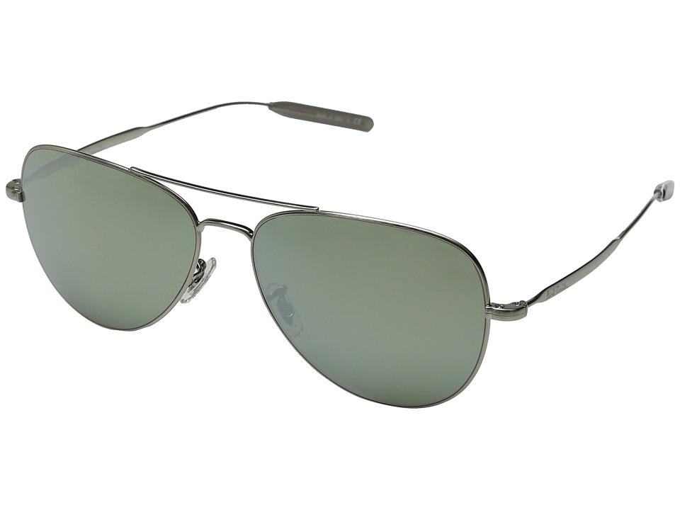 Paul Smith Davison Brushed Silver/Silver Mirror Fashion Sunglasses