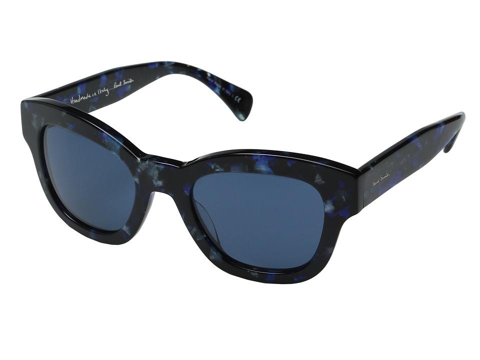 Paul Smith Dennett Confetti Blue/Blue Fashion Sunglasses