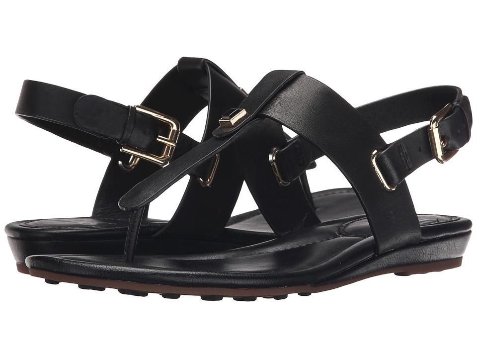 Sofft Alexie Black M Vege Womens Sandals