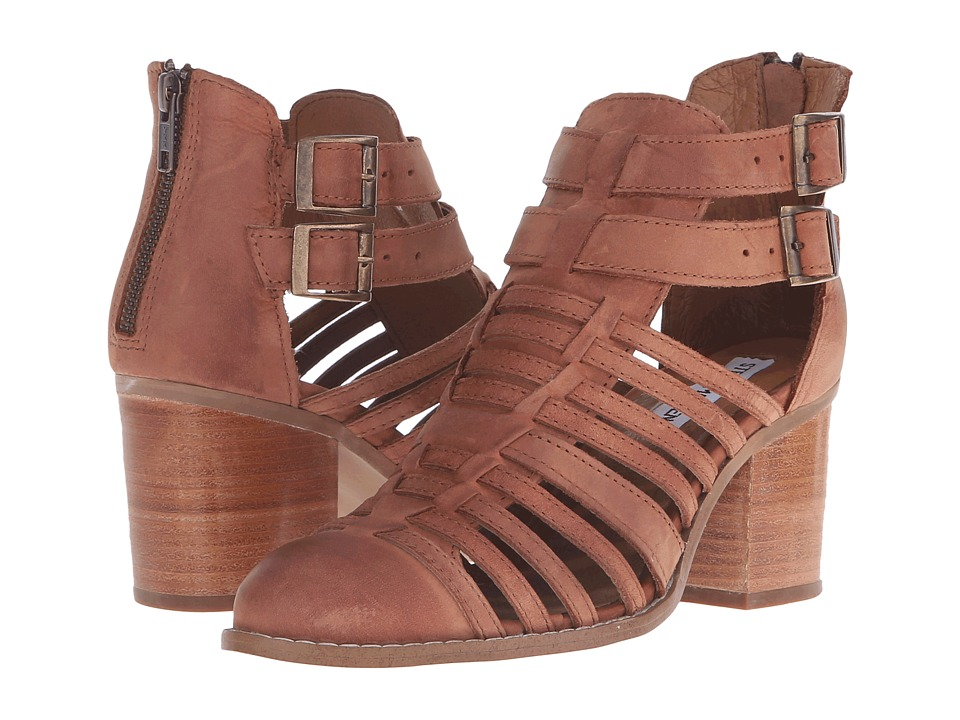 Steve Madden Frenchey Brown Leather High Heels