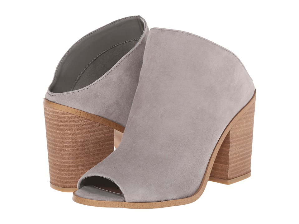 Steve Madden Nollla Grey Suede Womens Clog/Mule Shoes