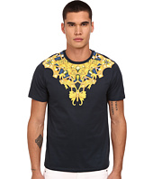 Versace Collection - Baroque Collar Graphic T-Shirt