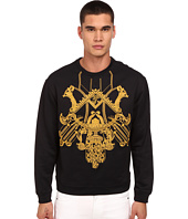 Versace Collection - Embroidered Mirrored Baroque Pullover