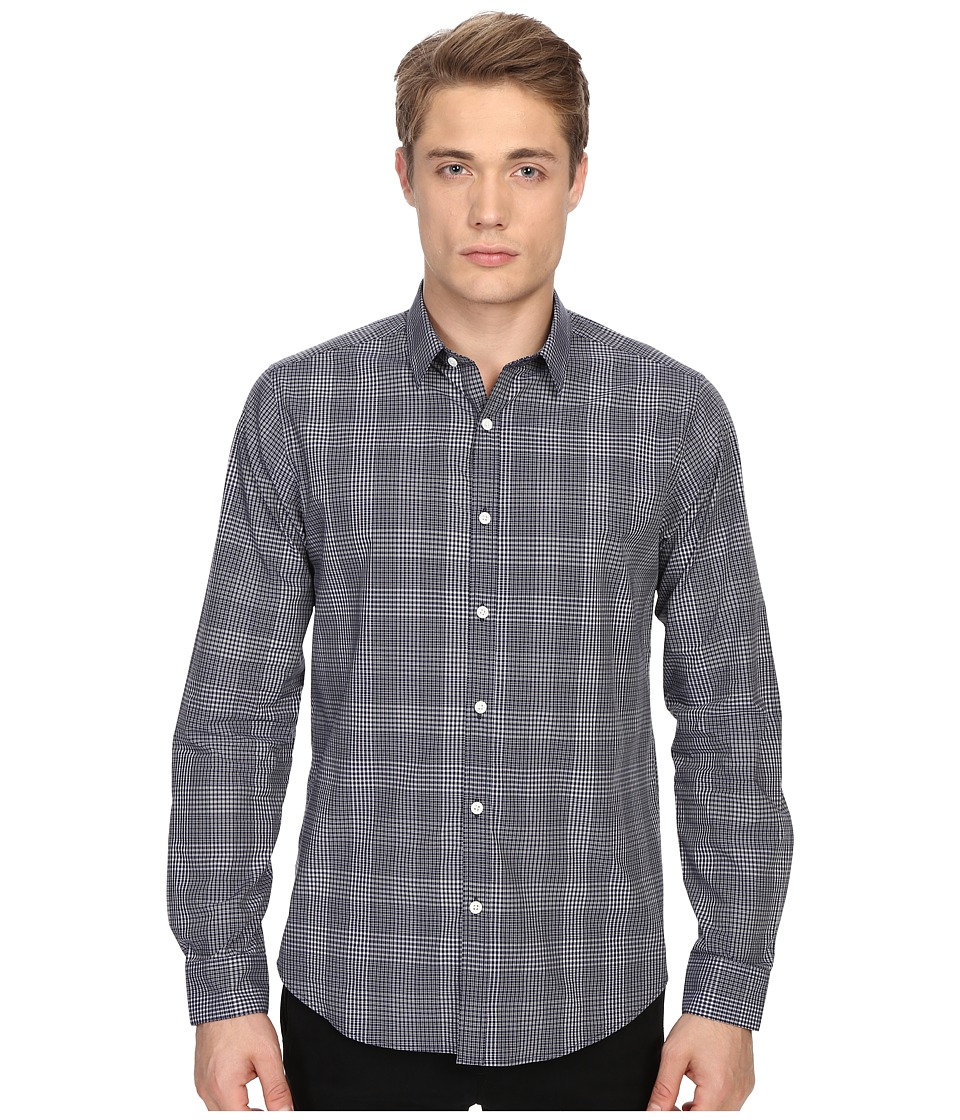 Theory Zack PS.Kembla Button Up Eclipse Multi Mens Long Sleeve Button Up