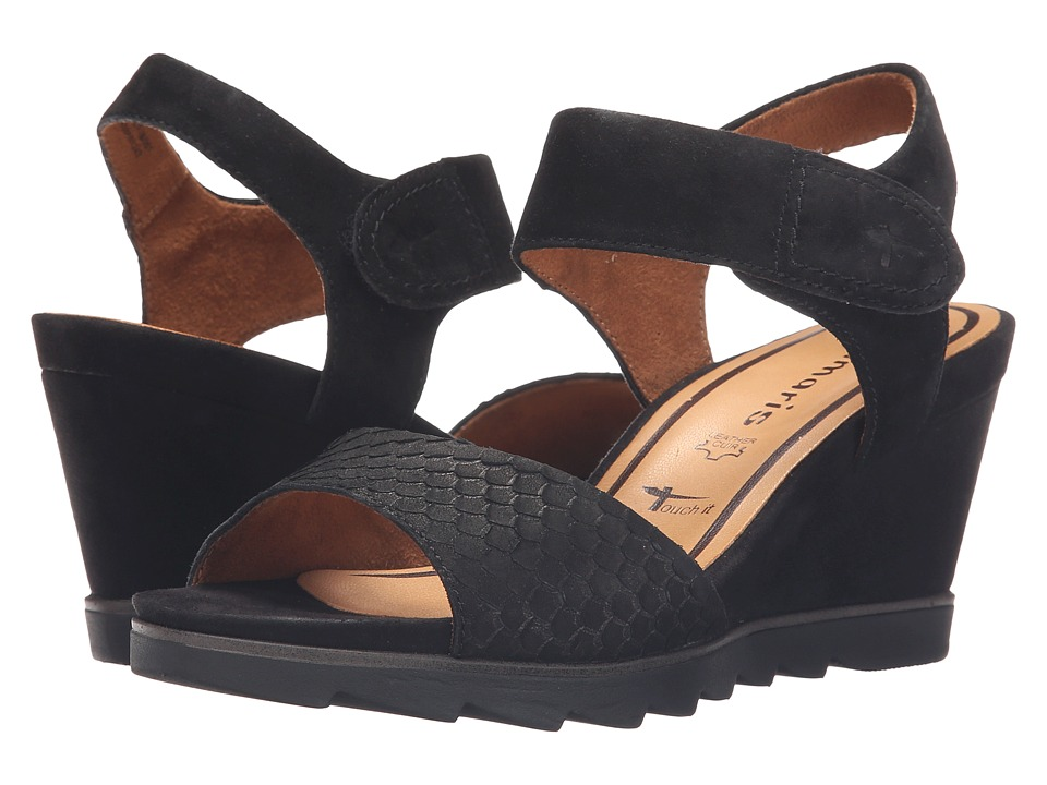 Tamaris Alis 28302 26 Black Womens Shoes