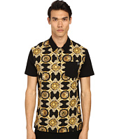 Versace Jeans - Baroque Medallion Print Polo