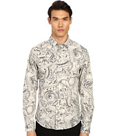 Versace Jeans - Framed Baroque Print Button Up